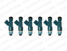 Set of 6 DENSO 0250 fuel Injector Volvo 2007-2013 XC90 30777501 6G9N-AB OEM