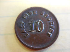 10 CENT RARE EAST SIDE GROCERY  TOKEN/CLACKER