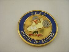 Challenge Coin USAF PSAB HOUSE OF POWER SAUDI ARABIA PRINCE SULTAN AFB RARE A34