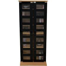 MANHATTAN CD/ DVD / Media Storage Shelves  BLACK MS1008
