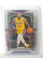 Lebron James 2019-20 Panini Prizm Base Card #129 Lakers