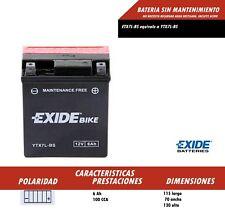 BATERIA DE MOTO YTX7L-BS SIN MANTENIMIENTO (REF EXIDE ETX7L-BS) ENVIO GRATIS 24H