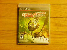 The Earth Defense Force: Insect Armageddon (Playstation 3, 2011)  Factory Sealed