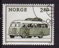 Norvegia 1980 Mai Incernierato CTO 2k 80 PULLMAN