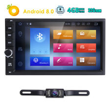 "OBD2 2Din 7""Android 8.0 8Core Car Stereo GPS Tracker Radio Player E DAB+ WiFi 4G"