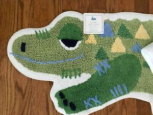NEW Pottery Barn Kids SAFARI Alligator BATH MAT ~  BATH ~