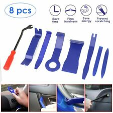 8Pcs Car Auto Trim Removal Tool Pry Door Panel Dash Radio Body Interior Clip New
