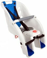 Lightweight Frame-mounted Rear Bike Seat for Toddlers Child Carrier w/ Harness