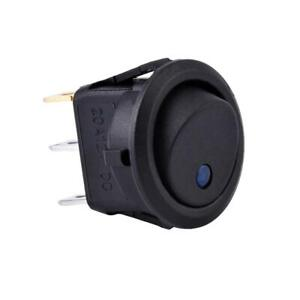 Automotive  Electrical Round On/Off Spst Switch 12v For Car Van Dash Boat Light