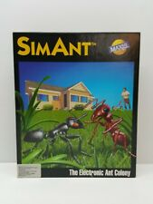 VTG 1991 SimAnt Sim Ant Colony Maxis Software Game Pc Computer 3.5 5.25 Floppy