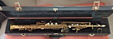 MONIQUE SOPRANO SAXOPHONE- EXCELLENT PLAYABLE CONDITION & AESTHETICALLY-NICE SAX