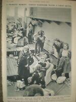 Photo article WWII Convoy passengers watch U-Boat battle 1944 ref AO