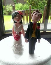 Personalised Bride and Groom Wedding Cake Topper