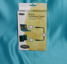 Belkin 6' Audio Extension 3.5mm Cable F8V204-06 mini stereo plug/audio jackSALE!