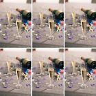 12 X CALICI PER CHAMPAGNE 135ml plastica bicchieri da FESTINO riutilizzabile &