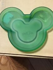 Mickey Mouse Shaped Frosted Green Candle Holder
