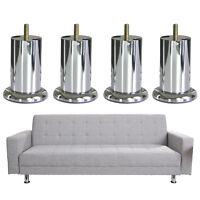 Stainless Steel Furniture Feet for Sofa Cabinet Table Shelf TV Bench Bookshelf