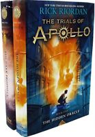Rick Riordan The Trials of Apollo Series Collection 2 Books Set  Dark Prophecy