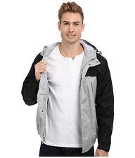 US POLO ASSN. Jacket Men's Hooded & Fleece Lined Windbreaker L Grey Black NWT