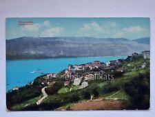 CASTELNUOVO Herceg Novi dalmazia CATTARO Montenegro nave vecchia cartolina AK