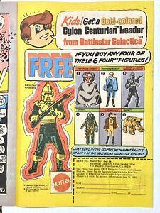 Battlestar Galactica Gold Colored Cylon Centurion Leader Promo AD Mattel 1979