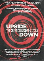 Upside Giù : The Creation Records Story (2014) UK Regione 2 Pal DVD Nuovo/Sealed