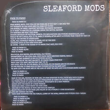 """SLEAFORD MODS 7"""" Face To Faces The POP GROUP - Nations Split single VINYL SEALED"""