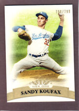 "2011  TOPPS  ""TIER ONE""  BASE   #32  SANDY KOUFAX  XXX/799"