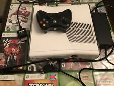 Xbox 360 Slim 250GB System Console +16 Games (Read)
