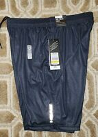 Nwt~Men's Sz.L HEAD Slim Fit Elastic Waist Navy Athletic Shorts~Basketball~Run