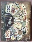 Russian Artist Maurichi Van Dime Tile M043 Cards and Dice (17-167)