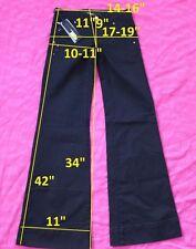 139$ NWT Miss Sixty DL0041 NEW TULUM W24 L34 jeans boot cut stretch cotton black