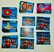 300+ Star Trek THE NEXT GENERATION 1992 Complete Trading Card Set + Holo + Forei