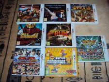Lot de 8 jeux Nintendo 3DS sous blister ou TBE (Mario, Need for Speed, Shinobi)