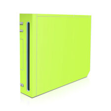 Wii Game Console Skin - Solid Lime - Decal Sticker