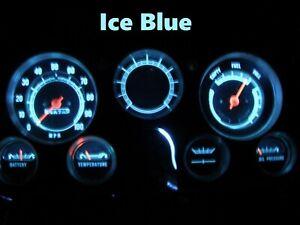 Gauge Cluster LED Dashboard Bulbs Ice Blue For GMC 67 - 72 C15 C25 C35 K Truck