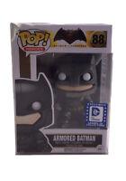 Funko Pop! Heroes Armored BATMAN no.88 DC Comics Legion Of Collectors Exclusive