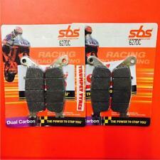 Suzuki GSF 600 Bandit 95 > 99 SBS Front Brake Dual Carbon Race Pads Set 627DC