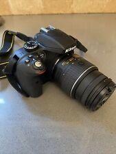 Nikon D D3300 24.2MP Digital SLR Camera - Black With 18-55mm AND 55-200mm Lens