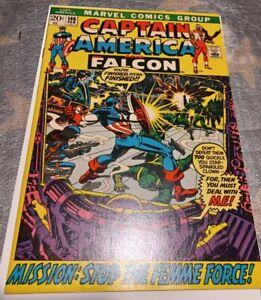 Captain America 146 VF+, 8.5, SecureShip, several pics