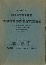 EO N° PIERRE DATZ + BENJAMIN PALENCIA : HISTOIRE DE LA REINE DE BAVIÈRE