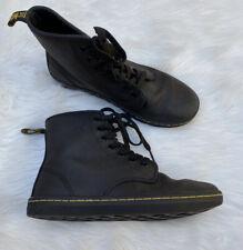 Doc Dr Martens Boots High Top Combat Shoes Brown Euc Lace Up 5 Womens