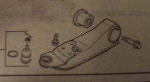 88-1991 Mazda 929 Lower P/S Control Arm Ball Joint