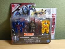 BRAND New Transformers Last Knight Tiny Turbo Changers Optimus Prime Bumblebee