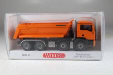 Wiking 067448 MAN TGS/Meiler Muldenkipper, Neuware. (162)