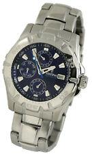 FESTINA Herren Chronograph Armbanduhr Uhr F16242/A Edelstahl Silber