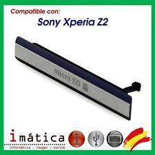 Cover Card Micro SD sony Xperia Z2 L50W D6503 Black Black Cover Side Cap
