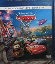 CARS 2 (3D/Blu-ray/DVD, 2011, 5-Disc Set, Includes Digital Copy) New / Sealed