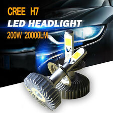 CREE H7 200W 20000LM LED Headlight Kit Low Beam Power Bulb 6500K White Light