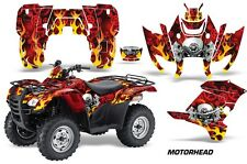 ATV Graphics Kit Decal Sticker Wrap For Honda Rancher AT 2007-2013 MOTORHEAD RED